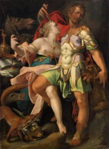 Одиссей и Кирка. Бартоломеус Спрангер