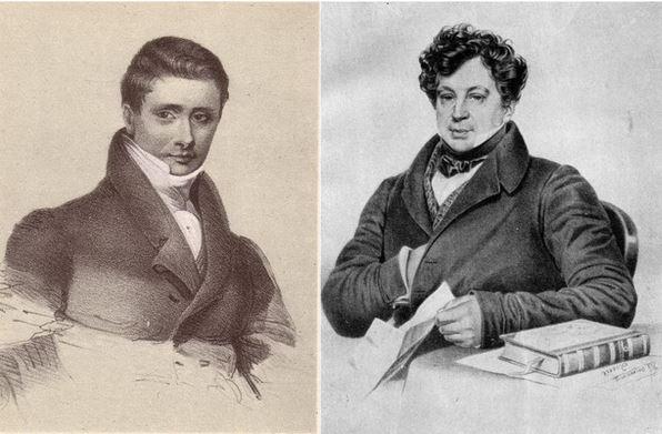 Братья Николай Иванович и Александр Иванович Тургеневы