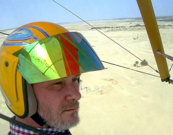 Над оазисом Дуз. Север Сахары, Тунис, август 2015