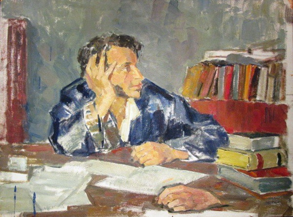 Пушкин. Картина Николая Ульянова