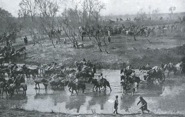 Отступление русских войск после Мукденского сражения