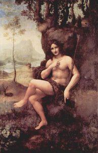Леонардо да Винчи «Вакх» (1510 г.)