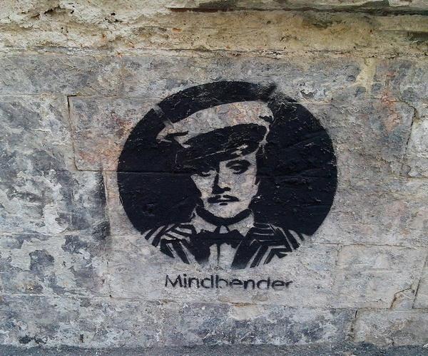 Остап Бендер. Граффити