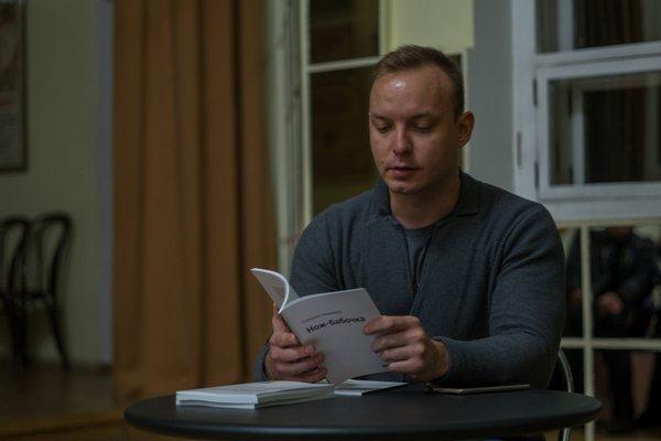 Г.Медведев на презентации книги. Фото: Г.Власов