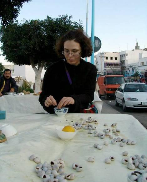 Улиточный фаст-фуд. Уэззан, Марокко, 2009