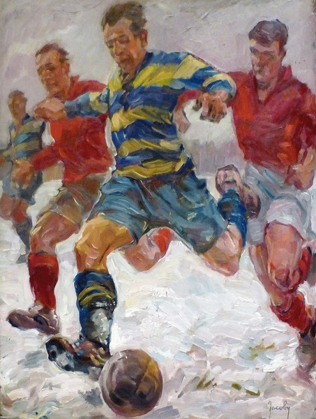 Жан Якоби. Футбол. 1932