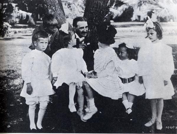 Фрэнк Баум с читателями, которые скоро вырастут