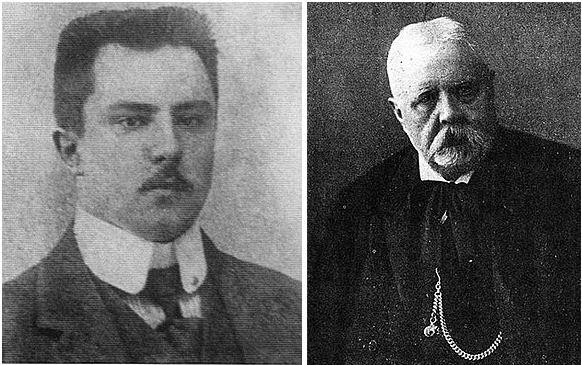 Владимир Алексеевич и Алексей Семёнович Шмаковы