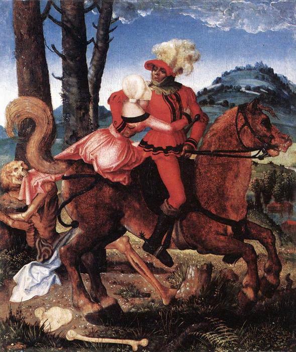 Ханц Бальдунг. Рыцарь, девушка и смерть.