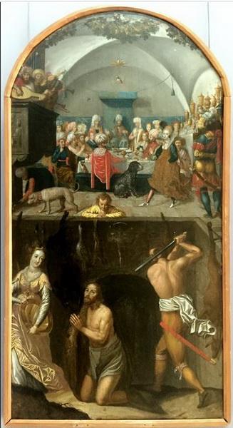 Пир Ирода, XVI век, неизвестный художник. Государственный музей искусств Казахстана имени А. Кастеева, Алматы