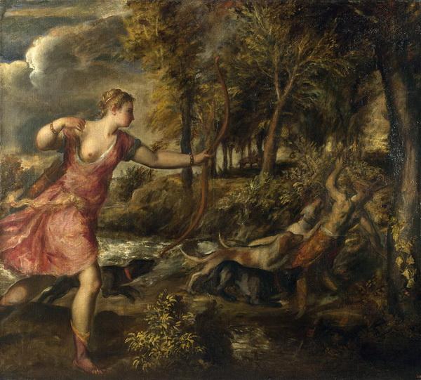 Тициан. Смерть Актеона