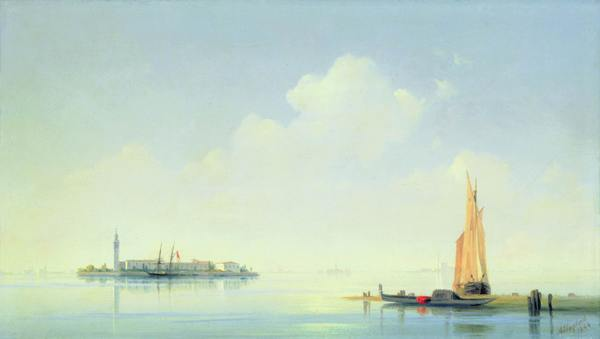 Венецианская лагуна. Вид на остров Сан-Джорджио. И.Айвазовский