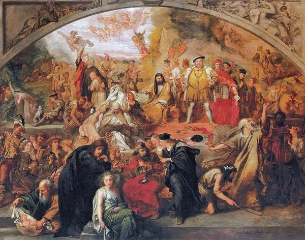 «Пьесы Уильяма Шекспира». Дж.Гилберт, 1849 г.