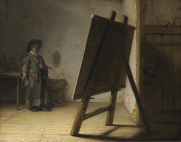 Рембрандт. Художник в мастерской