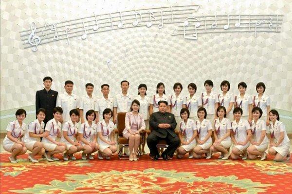 Группа Moranbong Band из Северной Кореи