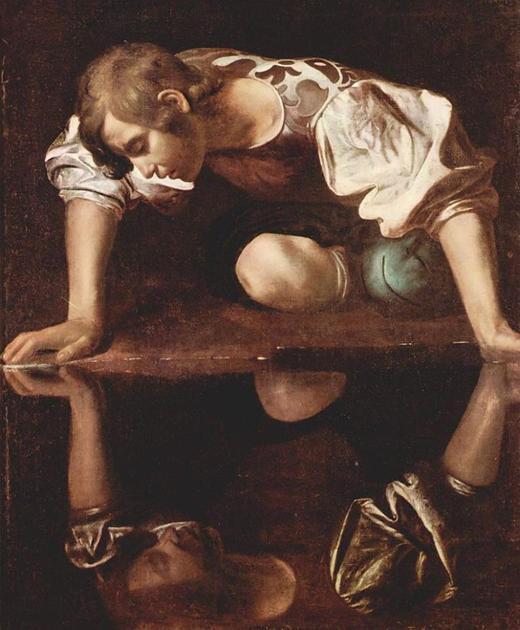 «Нарцисс» (итал. Narciso) Караваджо, 1597—1599 гг.