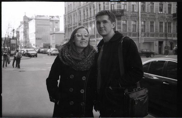 Андрей Фамицкий с Клементиной Ширшовой