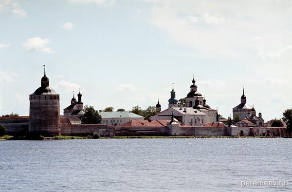 Кириллов монастырь со стороны Сиверского озера. Фото Олега Давыдова