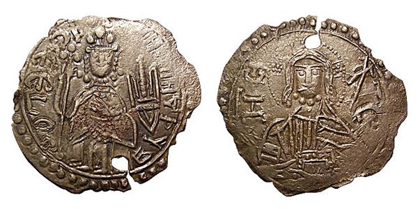 Сребреник великого Киевского князя Владимира