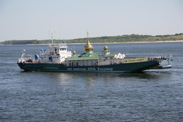 Единственный в мире храм-корабль Святой Владимир