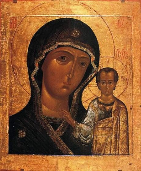 Одна из Казанских икон