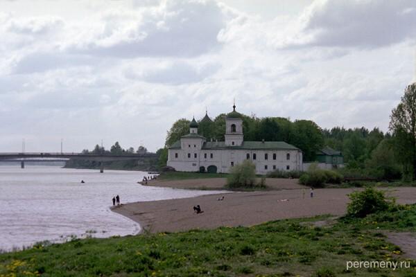 Псков. Мирожский монастырь. Фото Олега Давыдова