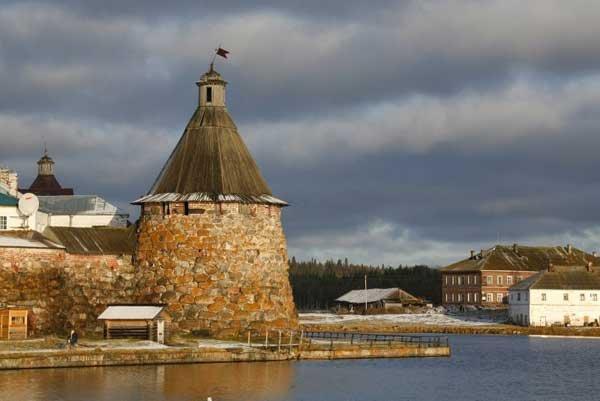 Соловецкий монастырь. Фото с сайта монастыря
