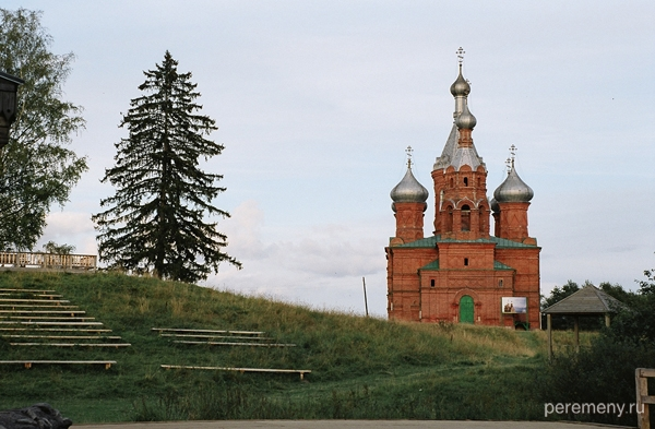 Ольгинский монастырь в Волговерховье. Фото Олега Давыдова