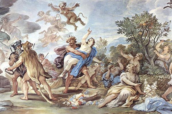Похищение Персефоны. Картина Луки Джордано