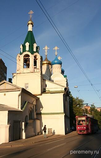 Церковь Жен Мироносиц в Нижнем Новгороде. Здесь рядом родился Макарий. Фото Олега Давыдова