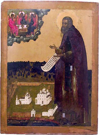 Макарий. Икона работы Симона Ушакова из Желтоводского монастыря