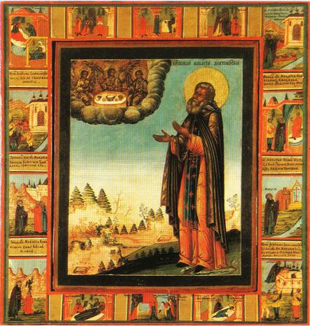 Архангельская икона Макария Унженского. В разных местах на севере существует устойчивая легенда, что Макарий там побывал