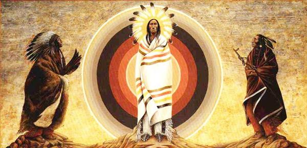 Так преображение видят индейцы