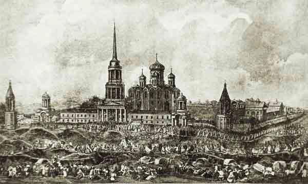 Прославление Тихона Задонского в 1861 году