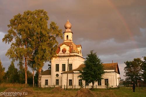 Унжа. Церковь во имя преподобного Макария. Она стоит на том месте, где Макарий умер. Фото Олега Давыдова