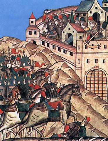 Тохтамыш осаждает Москву