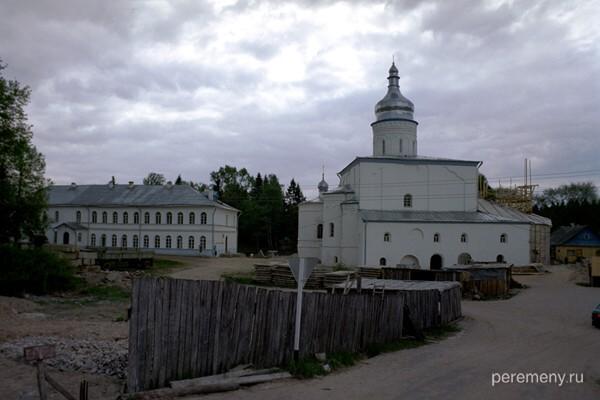 Псковская область. Спасо-Елизаров монастырь, где подвизался старец Филофей. Фото Олега Давыдова