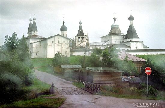 Ферапонтов Богородице-Рождественский монастырь в селе Ферапонтово Вологодской области. Фото Олега Давыдова