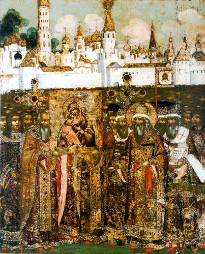 Сретенье (встреча) Владимирской Богородицы в Москве