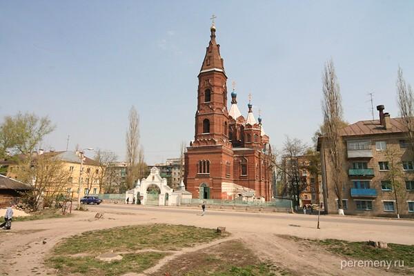 Елец. Церковь Елецкой Богородицы. Фото Олега Давыдова