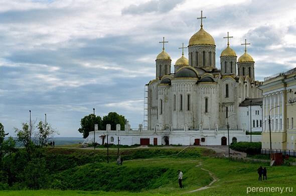 Владимир, Успенский собор, построенный для Владимирской Богородицы. Фото Олега Давыдова