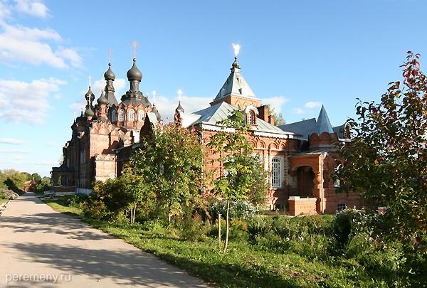 Казанский собор Шамординского монастыря. Фото Олега Давыдова