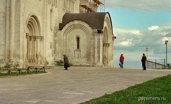 Владимир, Успенский собор, построенный Андреем Боголюбским для Владимирской Богородицы. Здесь лежат его мощи. Фото Олега Давыдова