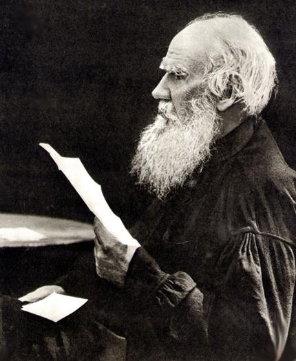 Лев Толстой. 1910 год