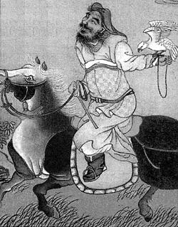 Чингисхан. Китайская гравюра XIII века