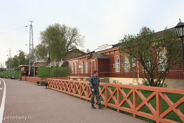 Станция Козлова Засека около Ясной Поляны. Фото Олега Давыдова