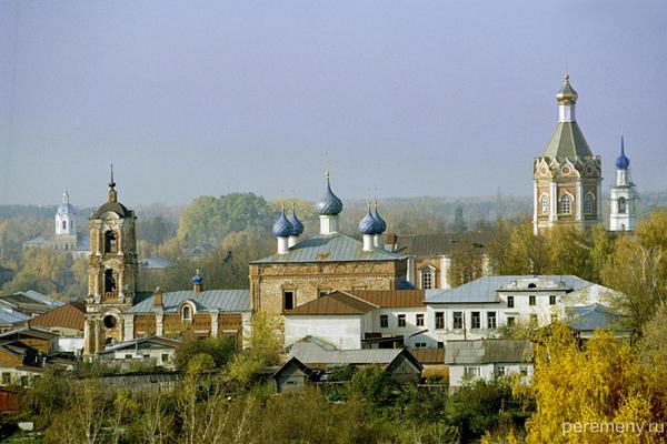 Касимов. Церкви на Советской площади. Фото Олега Давыдова