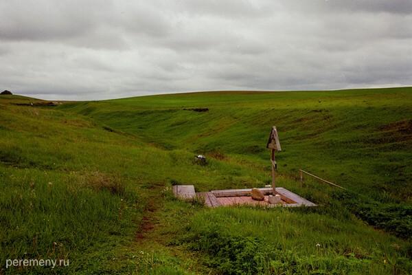 Пятницкий источник около Ключевской пустыни в Ардатовском районе Мордовии. Фото Олега Давыдова