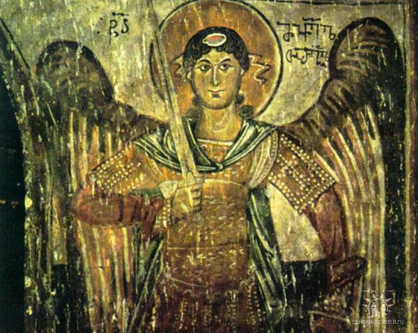 Архангел Михаил. Грузинская икона