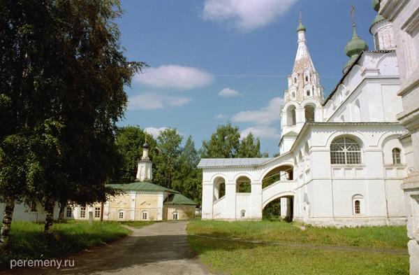 Михаило-Архангельский монастырь в Великом Устюге Вологодской области. Фото Олега Давыдова